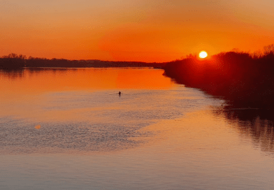 Sunset on the Shannon